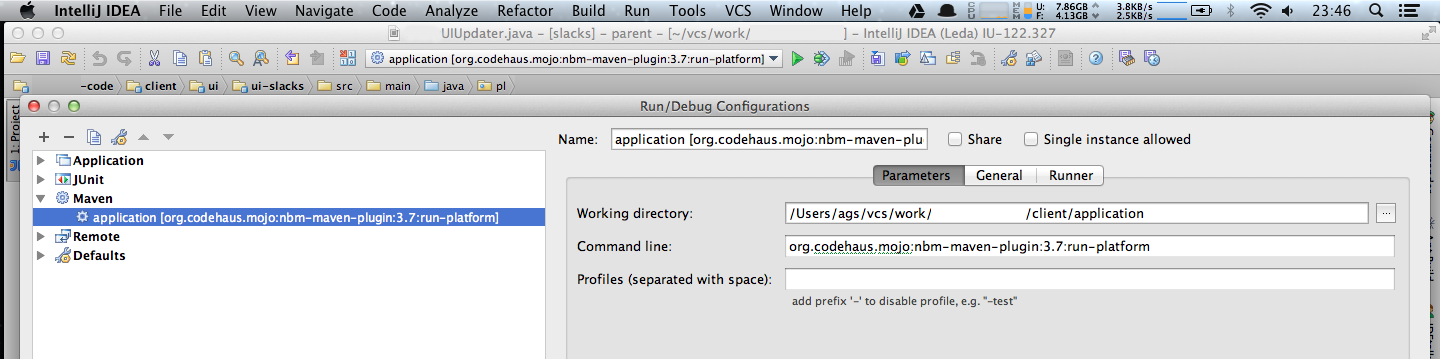 Debugging NetBeans RCP from IntelliJ - ags's blog